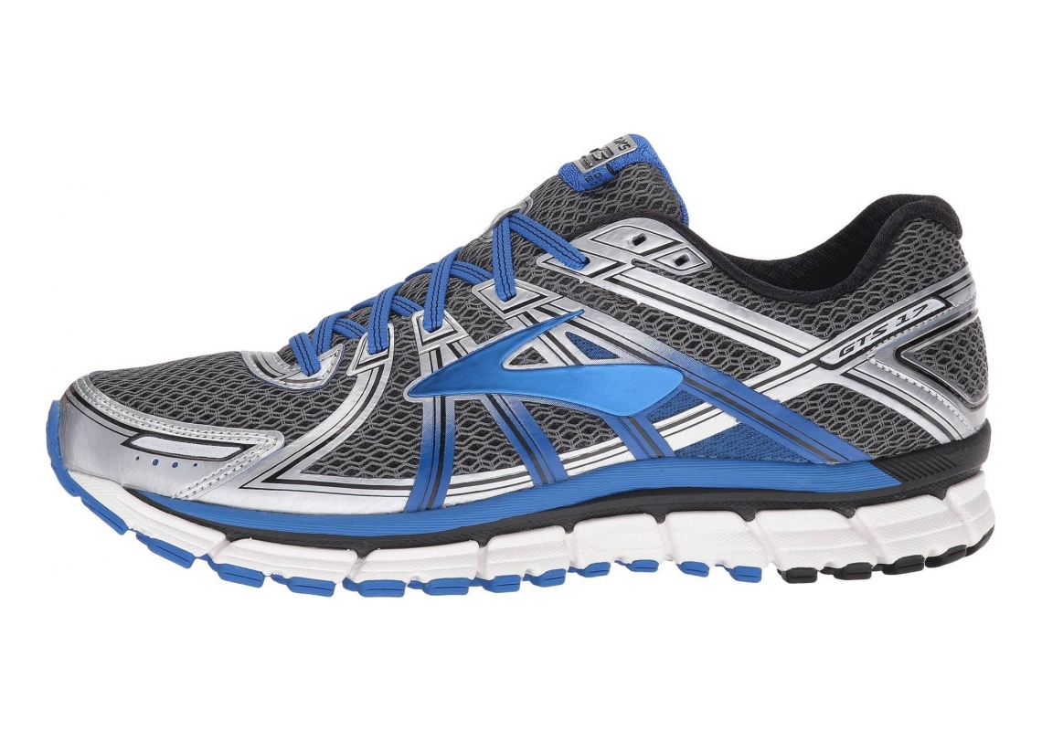 Brooks Adrenaline GTS 17 Anthracite/Electric Brooks Blue/Silver