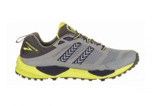 Brooks Cascadia 12 PRIMER GREY/ANTHRACITE/LIME PUNCH