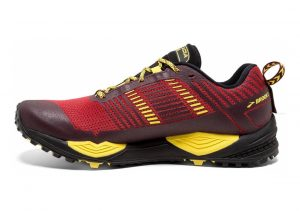 Brooks Cascadia 13 Red/Yellow/Black