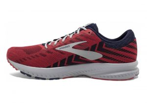 Brooks Launch 6 Cherry/Navy/Grey