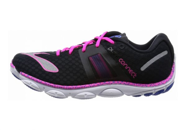 Brooks PureConnect 4 Black/Dazzling Blue/Pink Glo