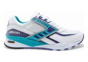 Brooks Regent White/purple Opulance/scuba Blue