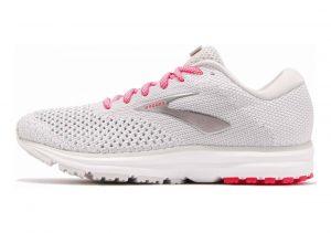 Brooks Revel 2 Grey/White/Pink