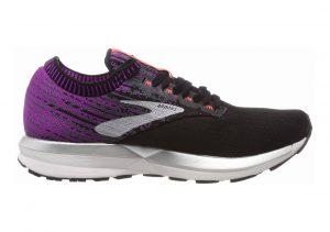 Brooks Ricochet Black / Purple / Coral