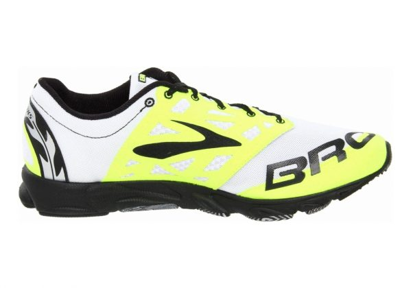 Brooks T7 Racer Gelb (Yellow/Black/White)
