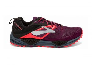 Brooks Cascadia 12 Pickled Beet/Black/Fiery Coral