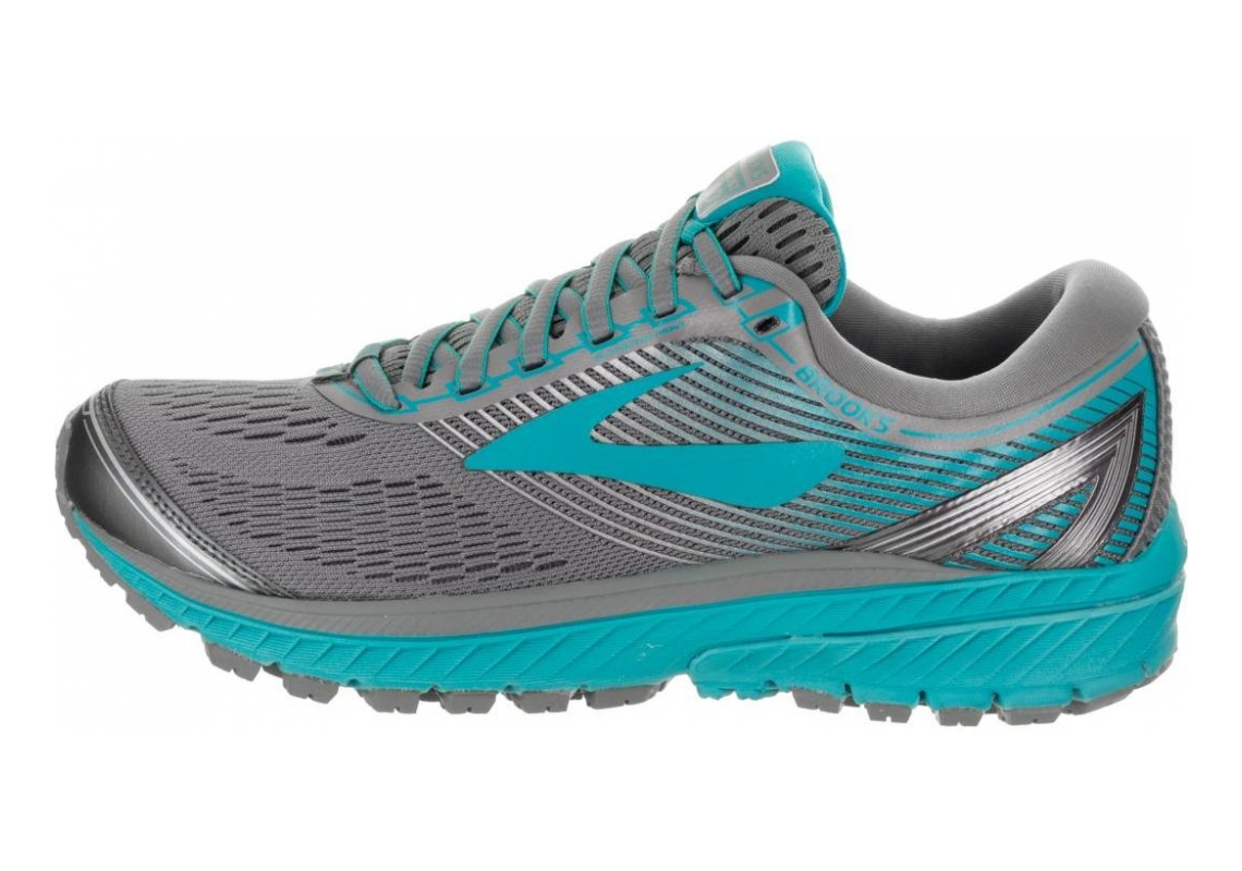 Brooks Ghost 10 Primer Grey/Teal Victory/Silver
