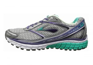 Brooks Ghost 7 Silver/Mulberry Purple/Pool Green