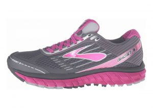 Brooks Ghost 9 GTX Anthracite/Festivalfuchsia/Silver