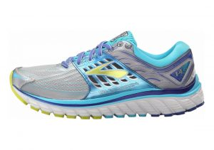 Brooks Glycerin 14 Silver/Blue Atoll/Lime Punch