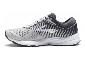 Brooks Launch 5 Grey/Ebony/White
