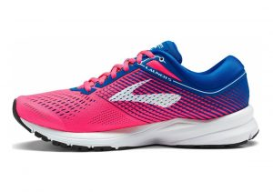 Brooks Launch 5 Pink/Blue/White