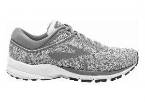 Brooks Launch 5 Grey/Microchip/White