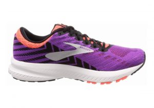 Brooks Launch 6 Purple / Black / Coral