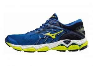 Mizuno Wave Horizon 2 Black / Blue / White / Yellow