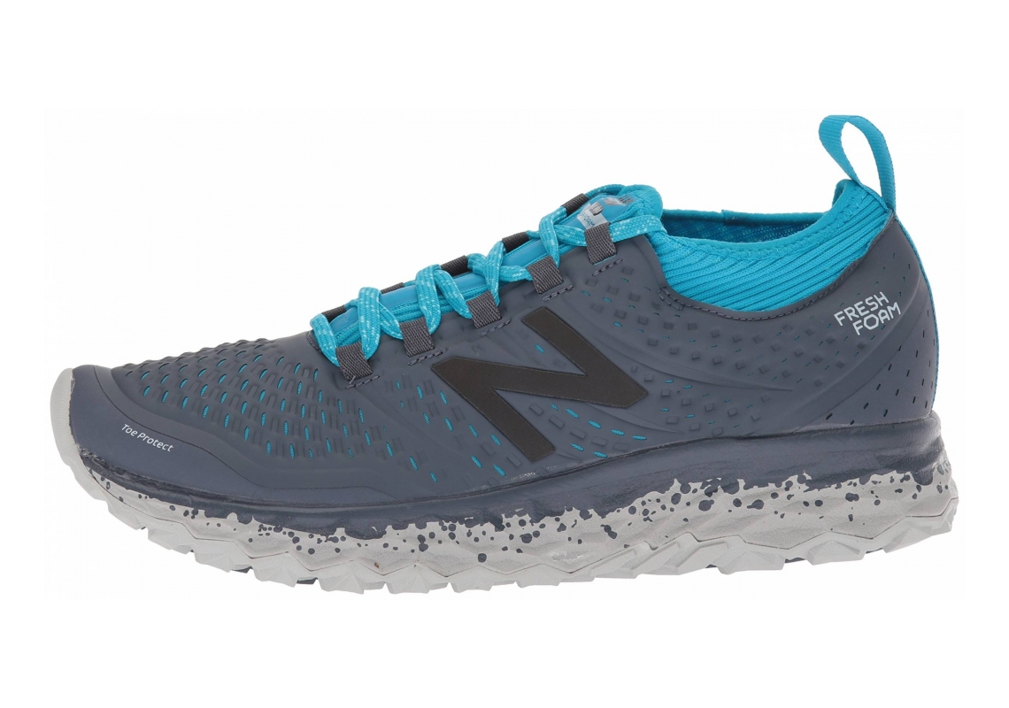 New Balance Fresh Foam Hierro v3 Grey with Blue