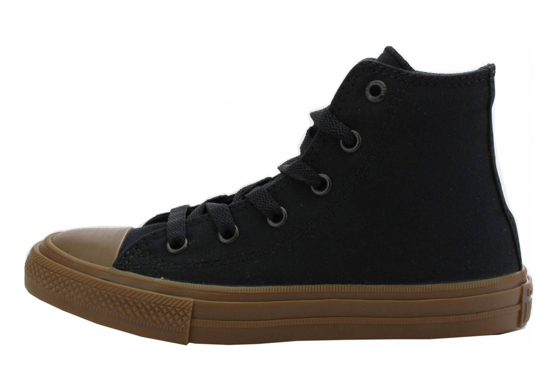 Converse Chuck II High Top Black/Gum