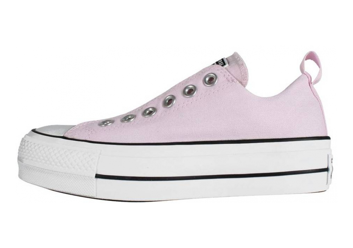 Converse Chuck Taylor All Star Lift Canvas Low Top  Pink (Pink/Black/White)