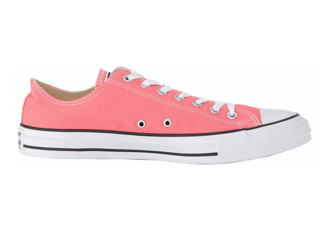 Converse Chuck Taylor All Star Seasonal Colors Low Top Punch Coral