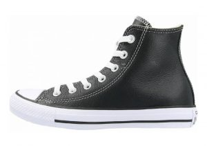 Converse Chuck Taylor All Star Core Leather Hi Black/Black/Black