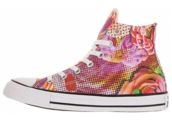 Converse Chuck Taylor All Star Floral Print High Top Floral
