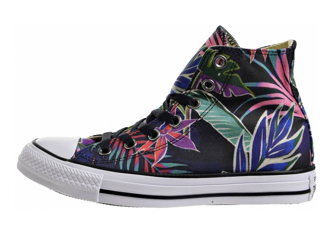 Converse Chuck Taylor All Star Floral Print High Top FUCHSIA GLOW/MENTA/WHITE