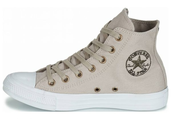 Converse Chuck Taylor All Star Hearts High Top Grey