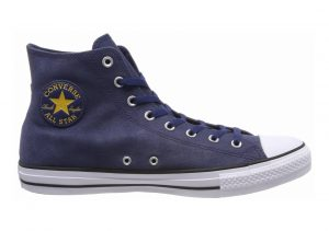 Converse Chuck Taylor All Star Leather High Top Blue (Navy/Black/White 426)
