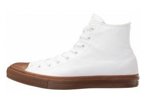 Converse Chuck II High Top White/White/Gum