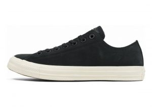 Converse Chuck Taylor All Star Leather Ox Black (Black/Driftwood/Driftwood 001)