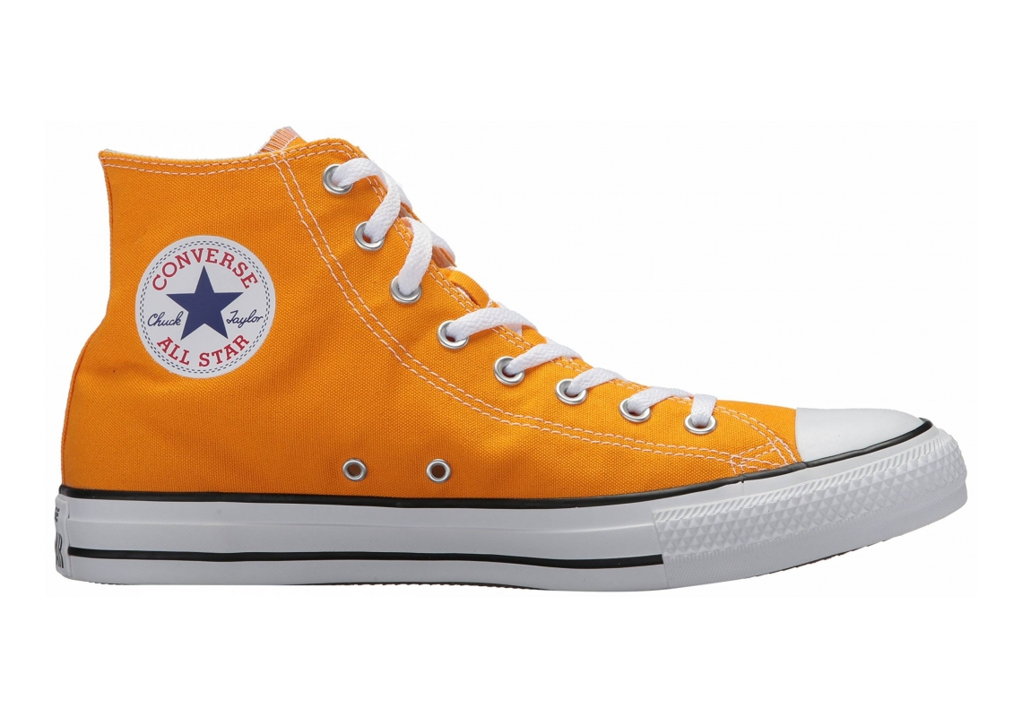 Converse Chuck Taylor All Star Seasonal High Top Orange Ray