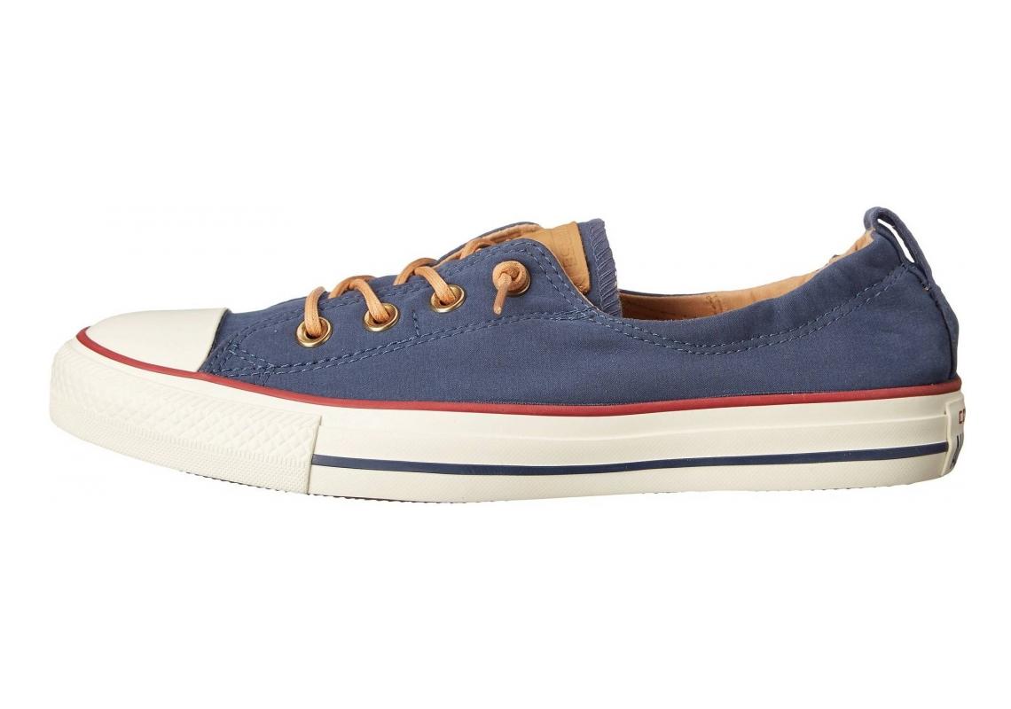 Converse Chuck Taylor All Star Shoreline Navy Red