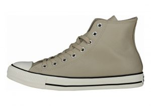 Converse Chuck Taylor All Star Leather High Top Beige