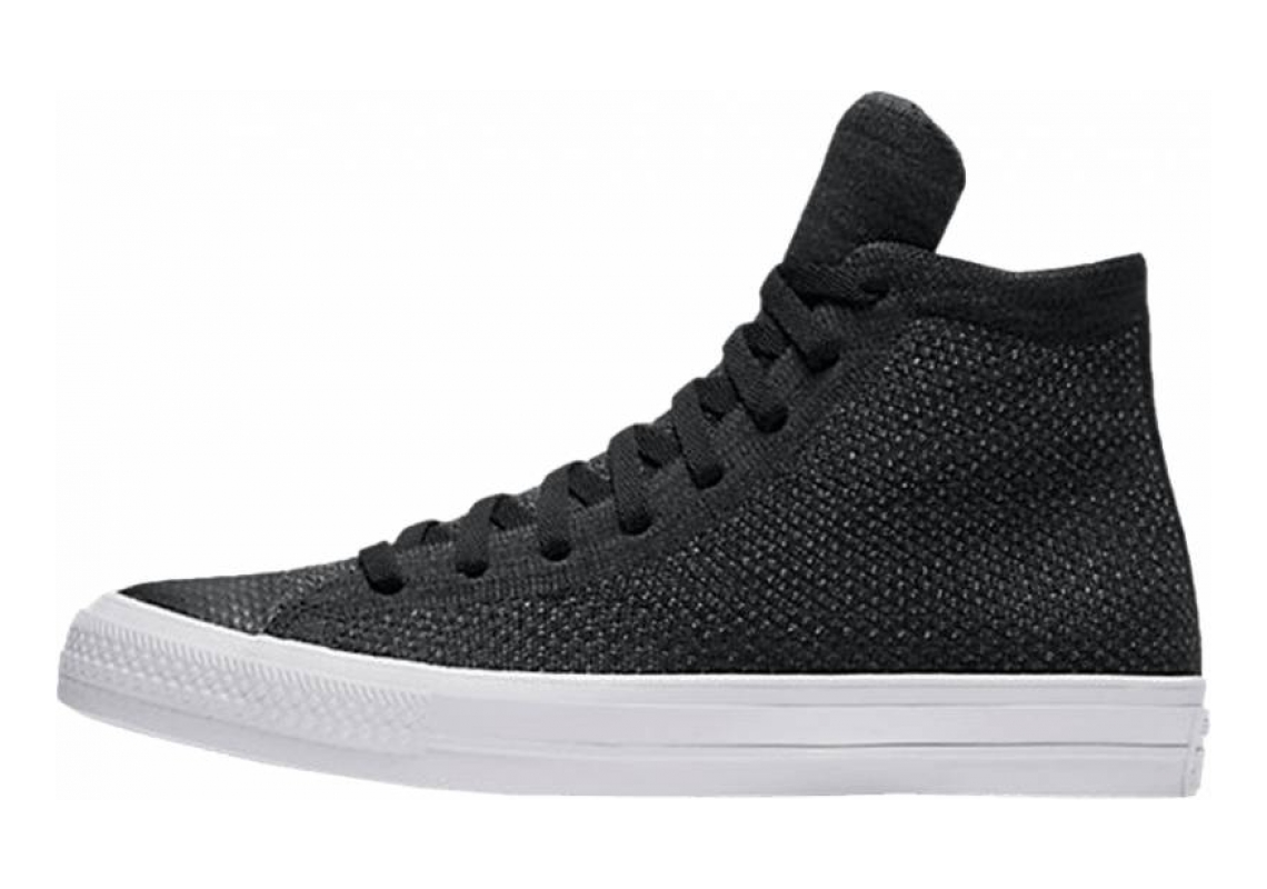 Converse Chuck Taylor All Star x Nike Flyknit High Top Black/Anthracite/White