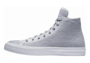 Converse Chuck Taylor All Star x Nike Flyknit High Top Wolf Grey/Cool Grey/White