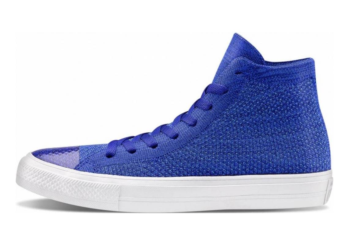 Converse Chuck Taylor All Star x Nike Flyknit High Top Indigo