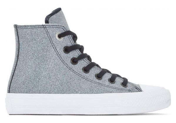 Converse Chuck II High Top Black/White/White (Grey)