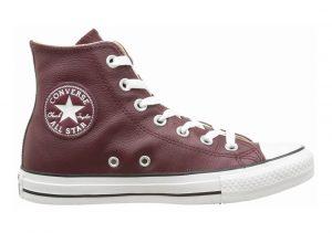 Converse Chuck Taylor All Star Leather High Top Deep Bordeaux