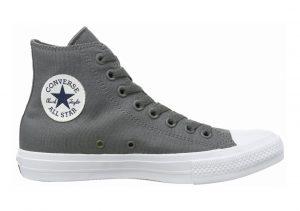 Converse Chuck II High Top Grau (Thunder/White/Navy)