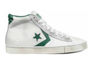 Converse Pro Leather High Top Weiß / Grün