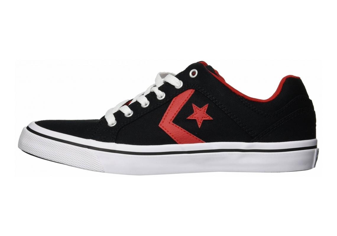 Converse El Distrito Black/Enamel Red/White