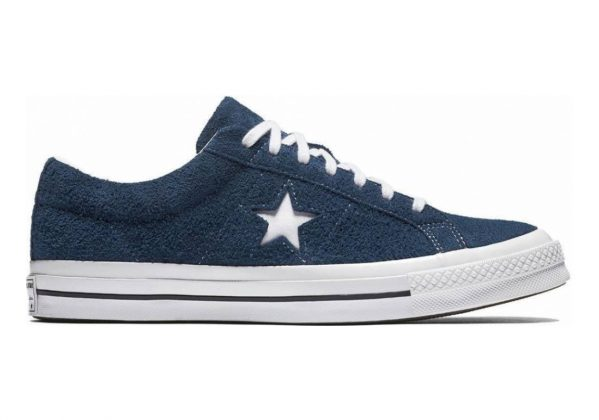 Converse One Star Suede Low Top Navy