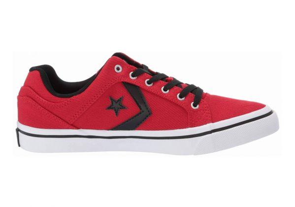 Converse El Distrito Enamel Red/Black/White