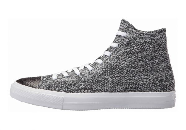 Converse Chuck Taylor All Star x Nike Flyknit High Top Black/Wolf Grey/White