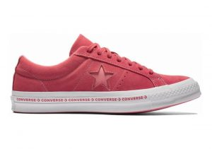 Converse One Star Premium Suede Low Top Paradise Pink/ Geranium Pink