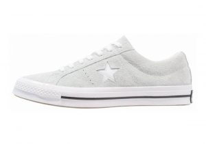 Converse One Star Premium Suede Low Top gris claro