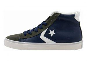 Converse Pro Leather High Top Blu/Verde Militare