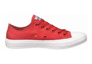 Converse Chuck II Low Top Red