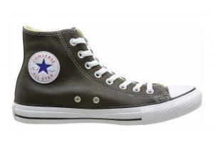 Converse Chuck Taylor All Star Leather High Top Braun (92 Marron Fonce)