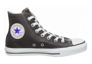 Converse Chuck Taylor All Star Leather High Top Chocolate/White